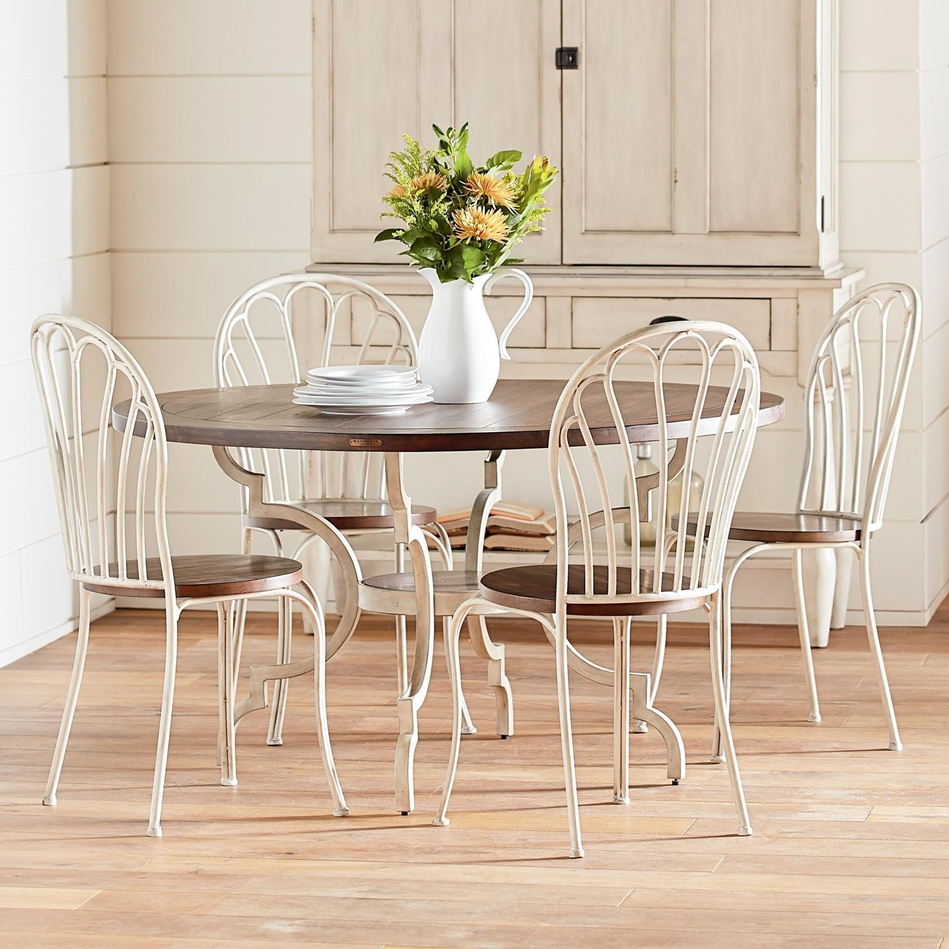 5 Piece Round Table & Chair Set by Magnolia Home by Joanna Gaines
