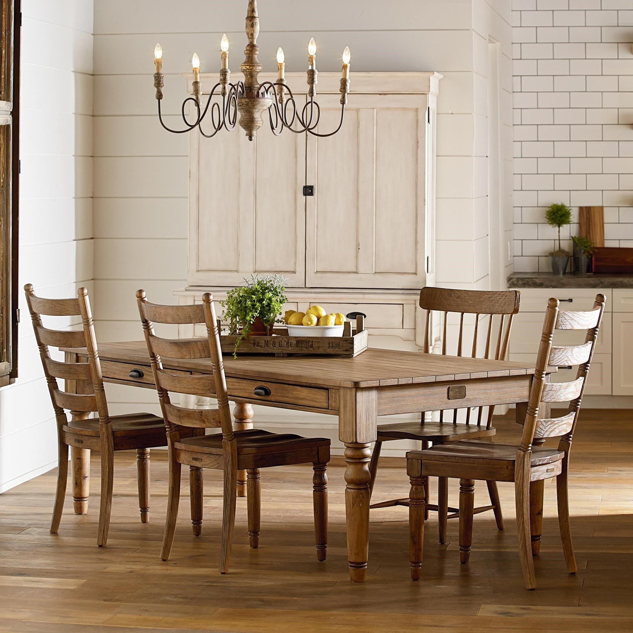 Primitive Dining Room Group by Magnolia Home by Joanna Gaines | Wolf ...