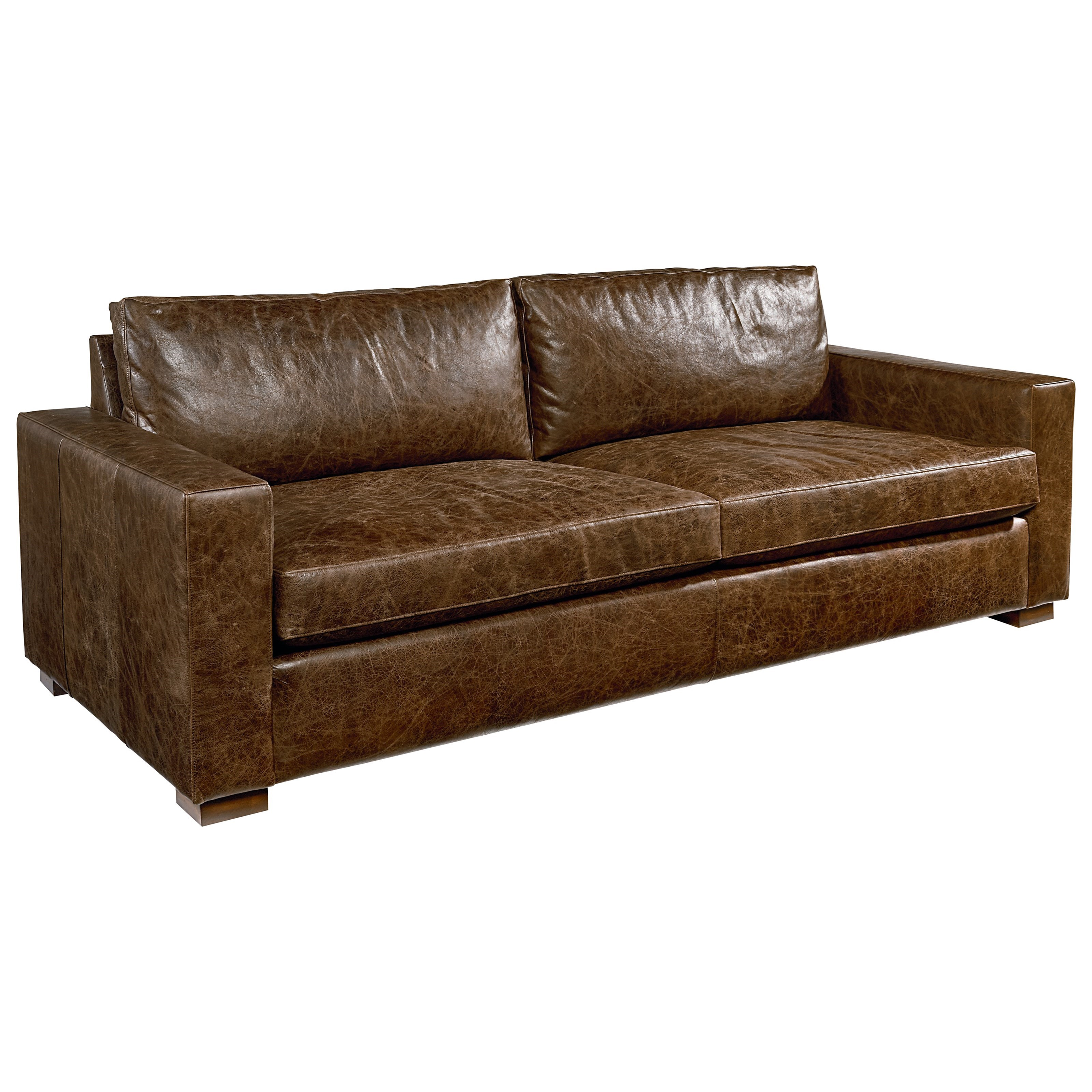 Leather Sofa By Magnolia Home By Joanna Gaines Wolf And Gardiner Wolf Furniture