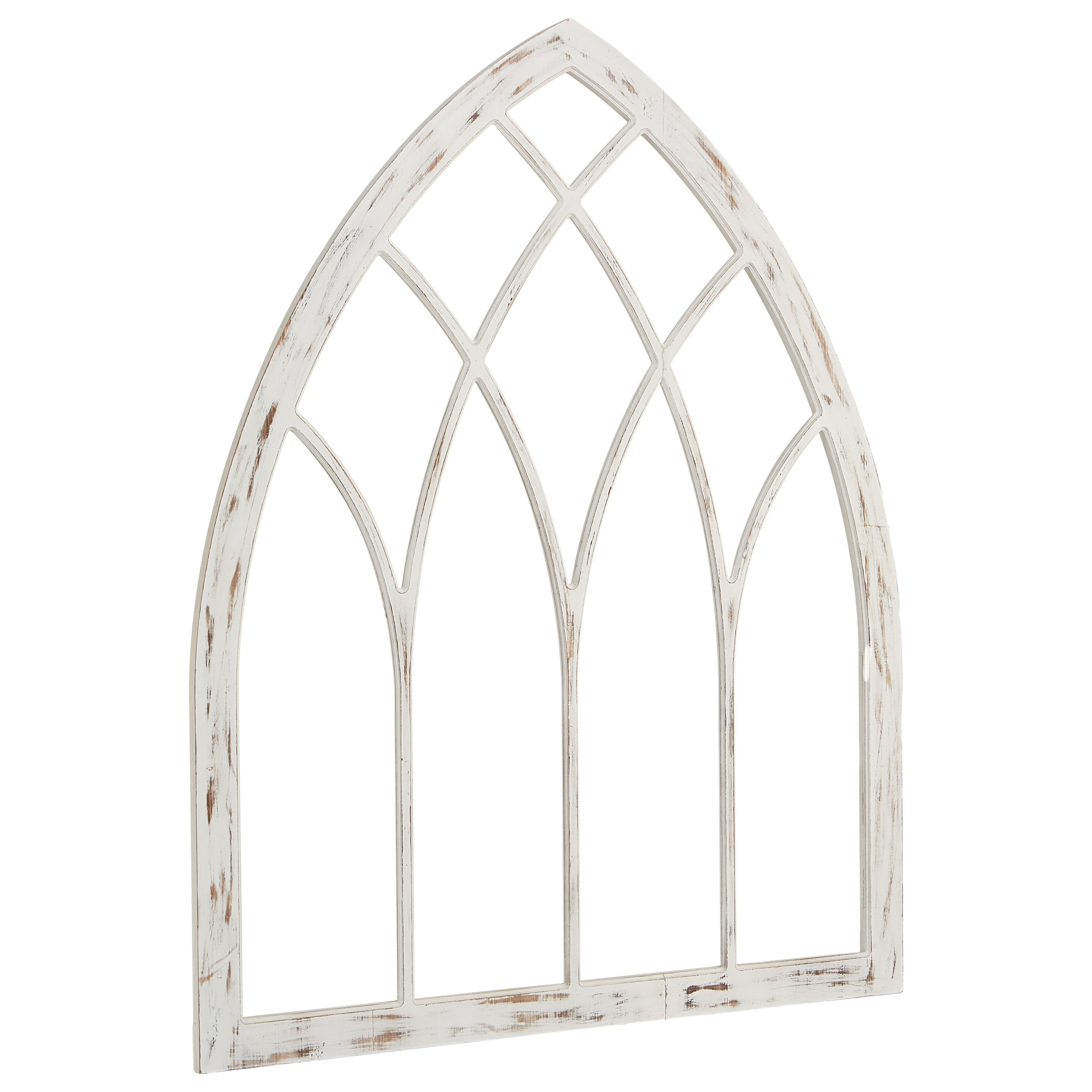 Arch window wall d cor by magnolia home by joanna gaines for Arch window decoration