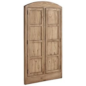 Eased Arched Double Door Window Casing