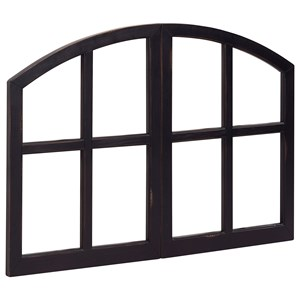 Arched Window Pane Frame