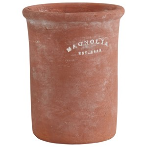 Large and Tall Terra Cotta Clay Pot