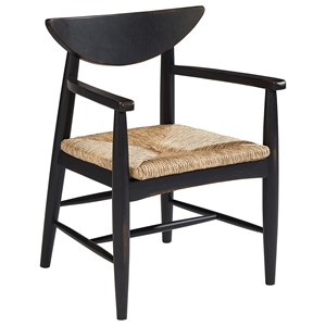 Arm Chair with Reed Seat