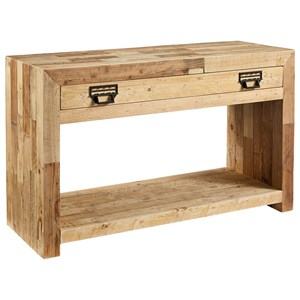 Rustic Canton Console Table