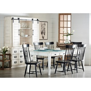 Kitchen Dining Group with 6' Table