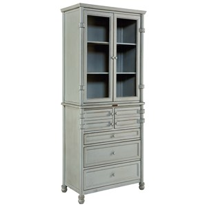 Metal Dispensary Cabinet