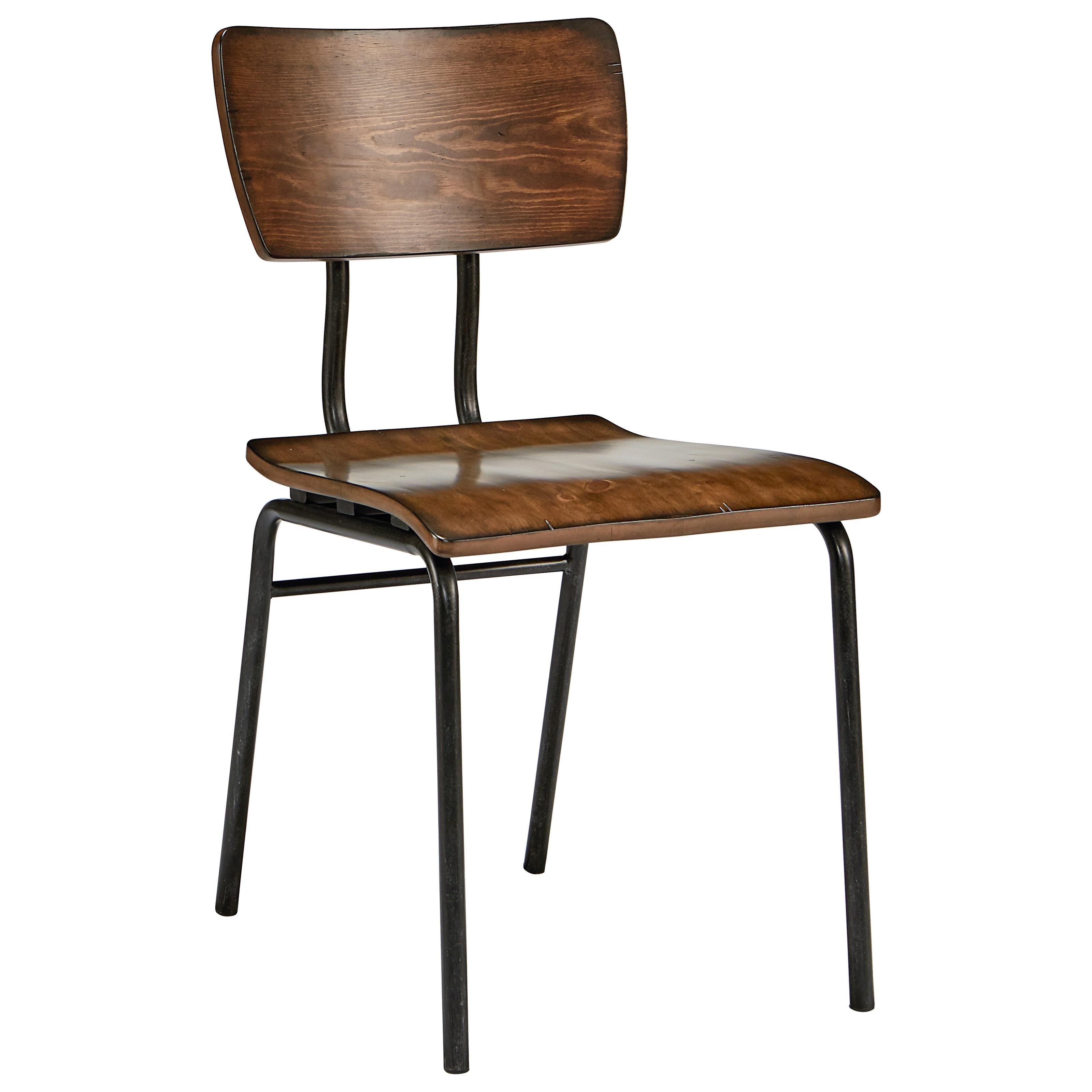 Metal And Wood Draftman Chair by Magnolia Home by Joanna Gaines