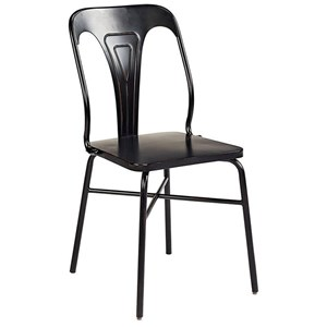 Gaven Metal Stamped Chair