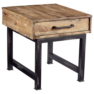 Pier and Beam End Table