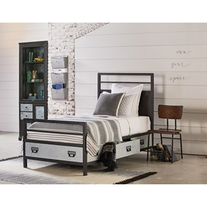 Industrial Twin Bedroom Group