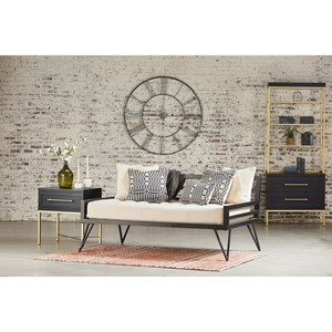 Industrial Daybed Bedroom Group