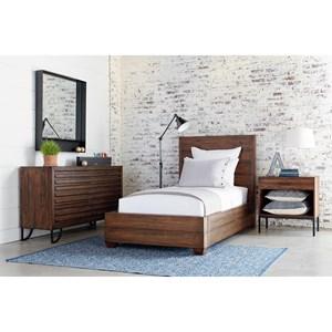 Full Industrial Bedroom Group