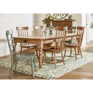 Wonderful 7u0027 Dining Table And Chair Set