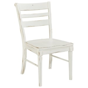 Slat Back Kempton Side Chair