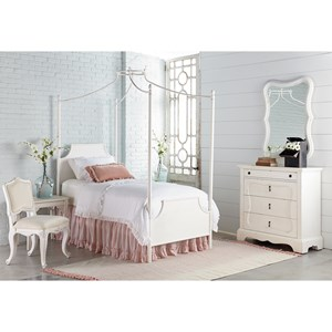 Twin Canopy Bedroom Group