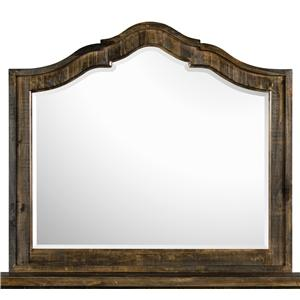 Magnussen Home  Brenley Shaped Mirror