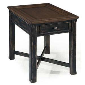 Magnussen Home  Clanton Rectangular End Table