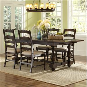 Magnussen Home  Loren 5 Piece Rectangular Table and Chair Set