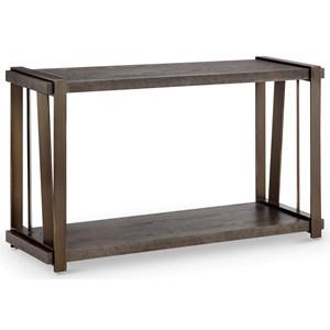 Rectangular Sofa Table with Shelf