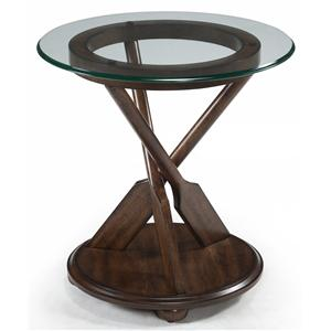 Magnussen Home Beaufort Round End Table