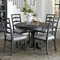 Round Dining Table With 4 Side Chairs