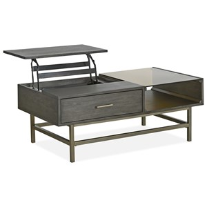 Mid-Century Modern Lift Top Cocktail Table