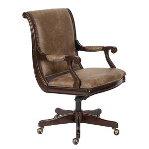 Magnussen Home Lafayette Desk Chair (Upholstered seat and back)