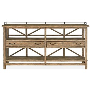 Rustic Sideboard with Dovetail Joinery