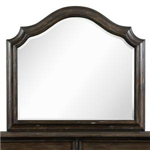 Magnussen Home Muirfield Bedroom Shaped Mirror