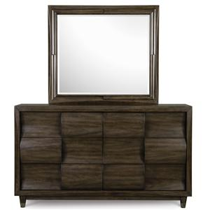 Vendor 2014 The New Curve Dresser with Mirror