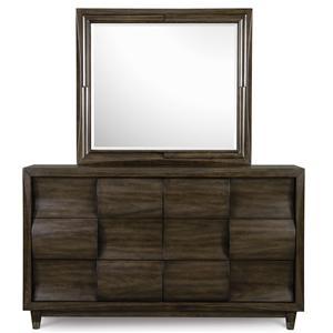 Magnussen Home Noma Dresser with Mirror