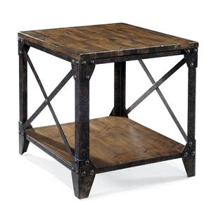 Magnussen Home Pinebrook Rectangular End Table