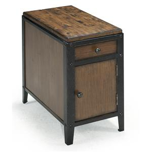 Magnussen Home Pinebrook Chairside Door End Table