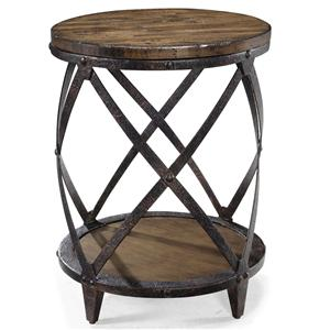 Magnussen Home Pinebrook Round Accent End Table