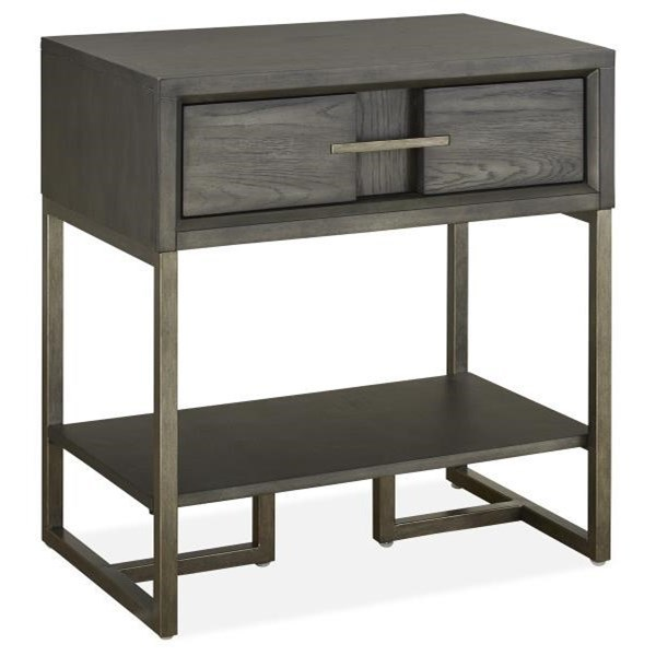 Modern Open Nightstand