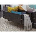 Queen Pattern Storage Bed