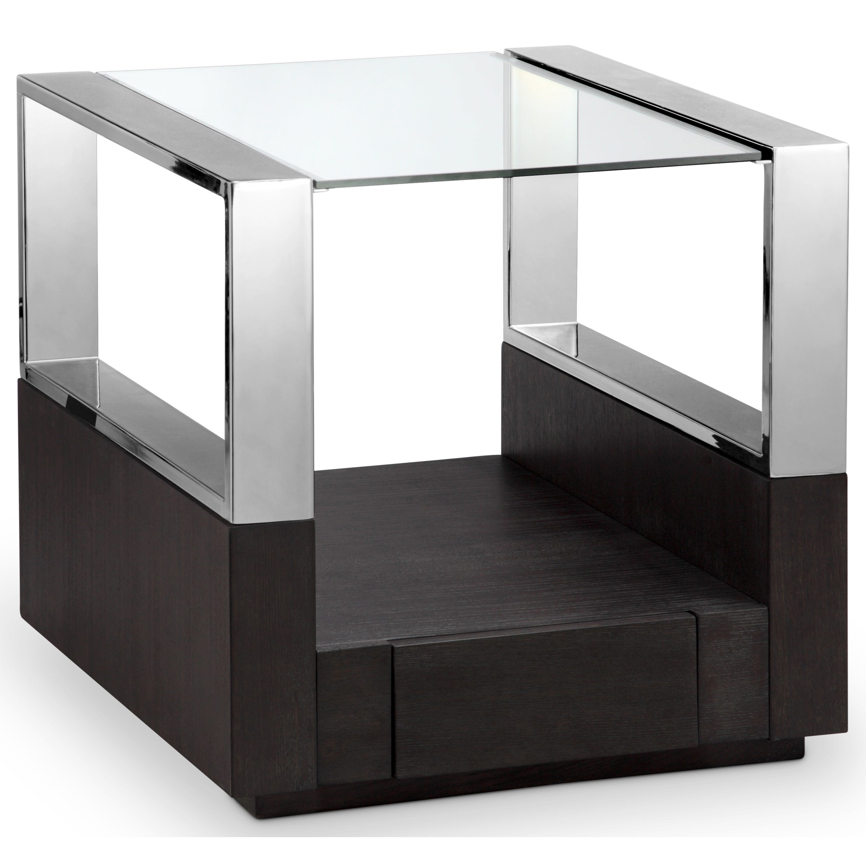 Contemporary Rectangular End Table
