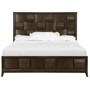 Magnussen Home Ribbons  Wood Queen Island Bed with Storage