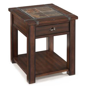 Magnussen Home Roanoke Rectangular End Table