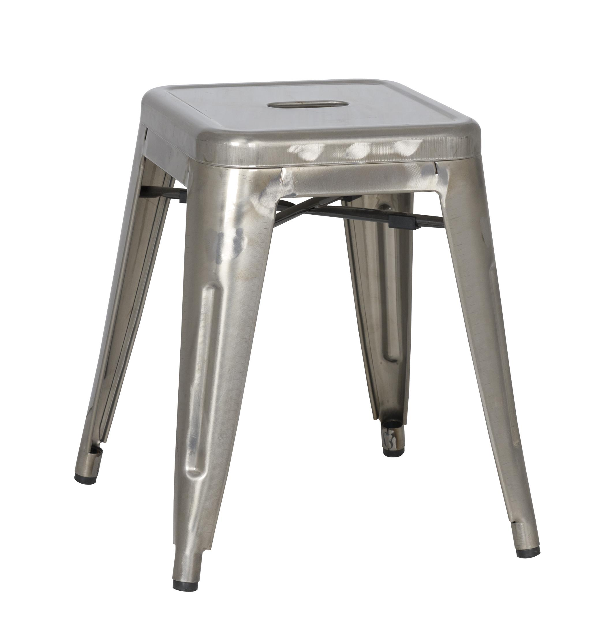 Vintage Metal Dining Table 18 High Vintage Metal Dining Stool By Magnussen Home Wolf And