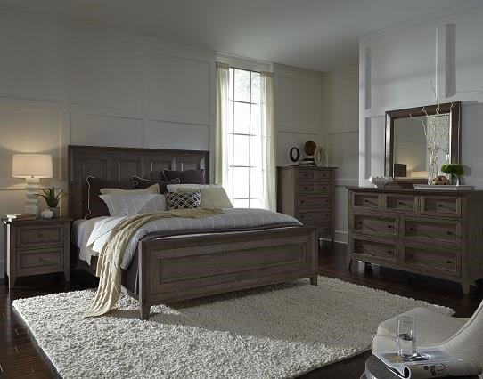 3pc Bedroom--Queen Bed, Dresser and Mirror