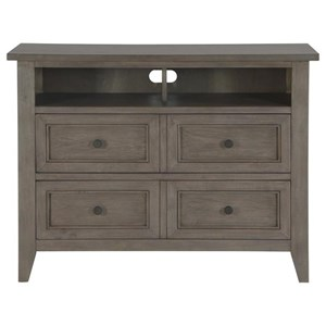 Media Chest with Dovetail Drawers