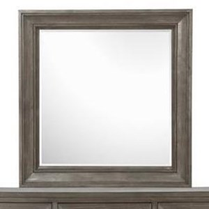 Portrait Concave Framed Mirror