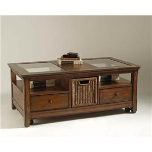 Magnussen Home Tanner Storage Cocktail Table