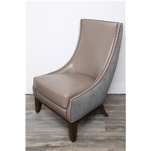 Magnussen Home Thomas Scoop Accent Chair