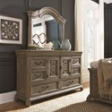 Drawer Dresser & Mirror Set