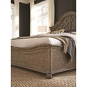 King Shaped Panel Bed