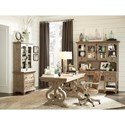 Lateral File with Display Hutch