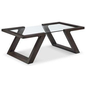 Contemporary Rectangular Cocktail Table